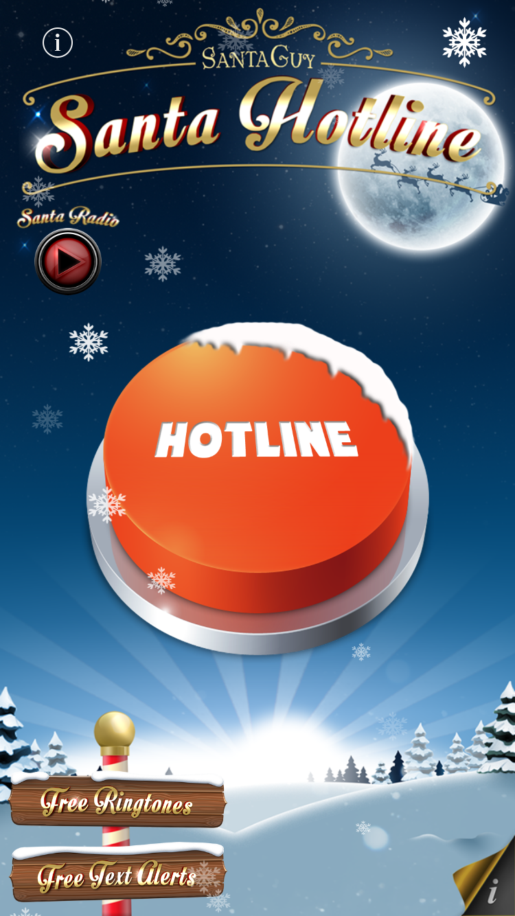 Santa Radio - Free Christmas Apps - Best Father Christmas downloads