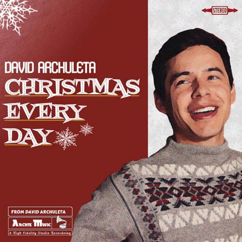 David Archuleta - Christmas Every Day - Christmas Radio