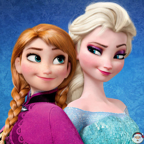 Elsa and Anna - Do you wanna build a snowman - Christmas Radio
