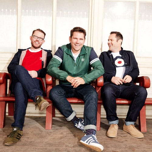 Scouting For Girls - Christmas in the air tonight - Christmas Radio