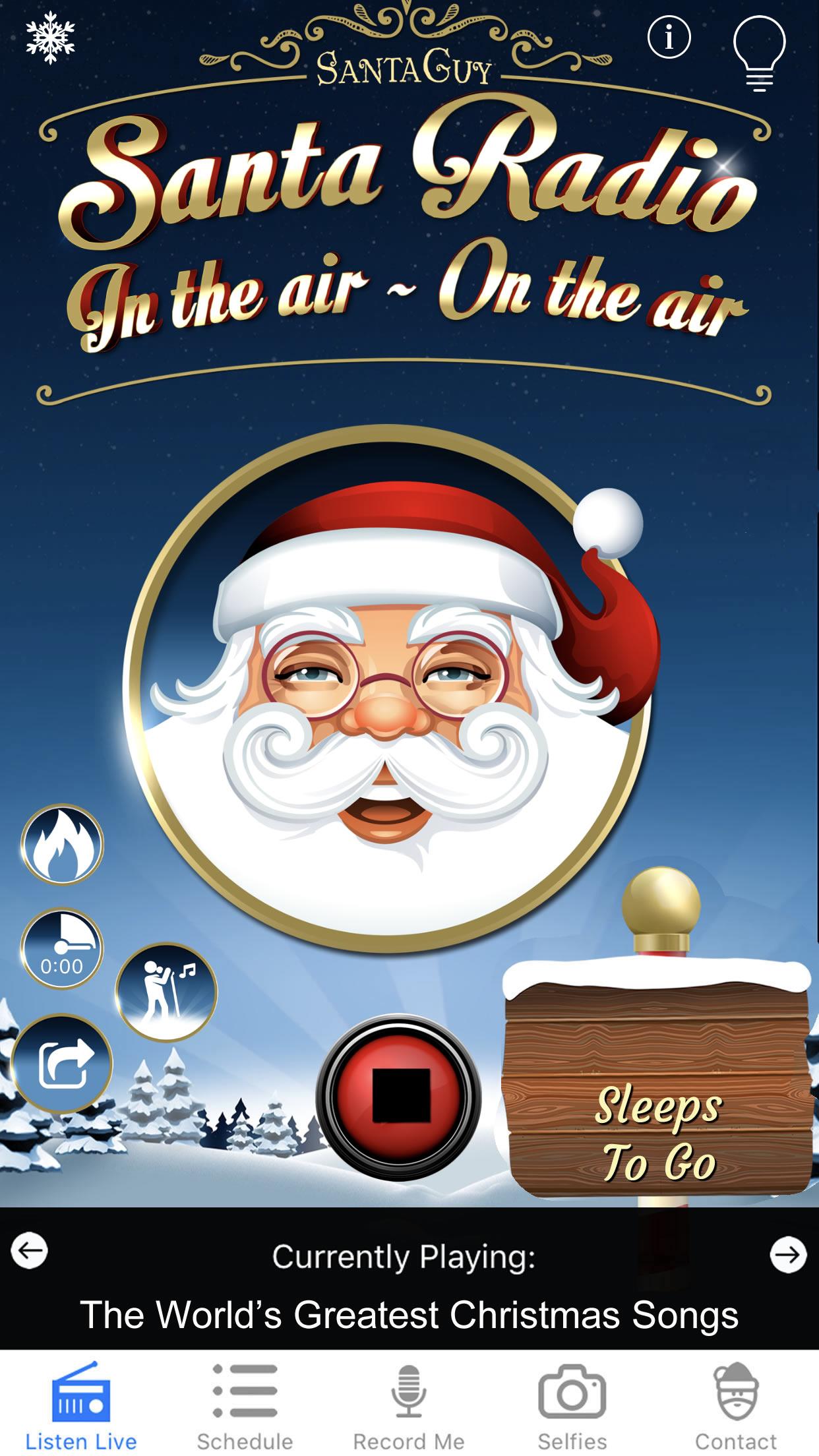 Santa Radio - The Worlds Best Christmas Music 24/7
