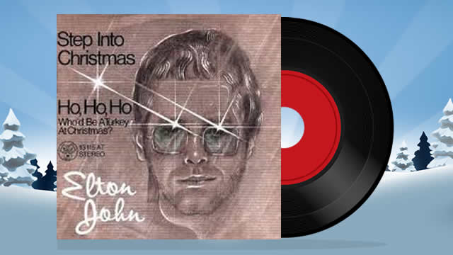 Step Into Christmas, Elton John