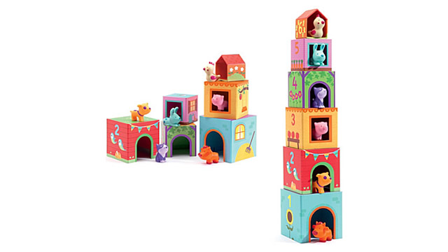 Djeco Topanifarm Cubes Infants (18 months+) £16 available at Selfridges
