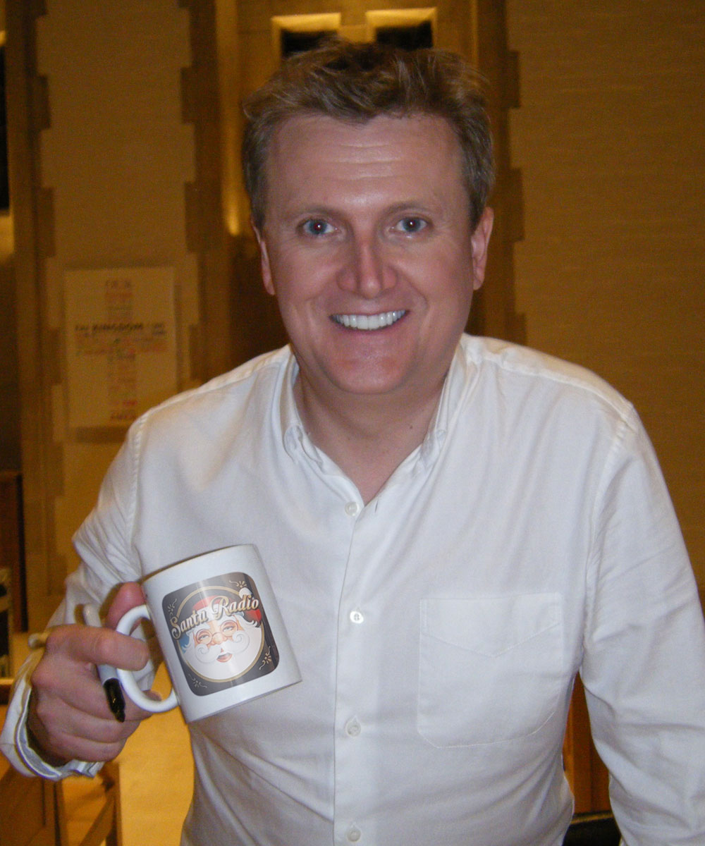 Aled Jones - Singer & TV Presenter - Santa Radio Mugshot