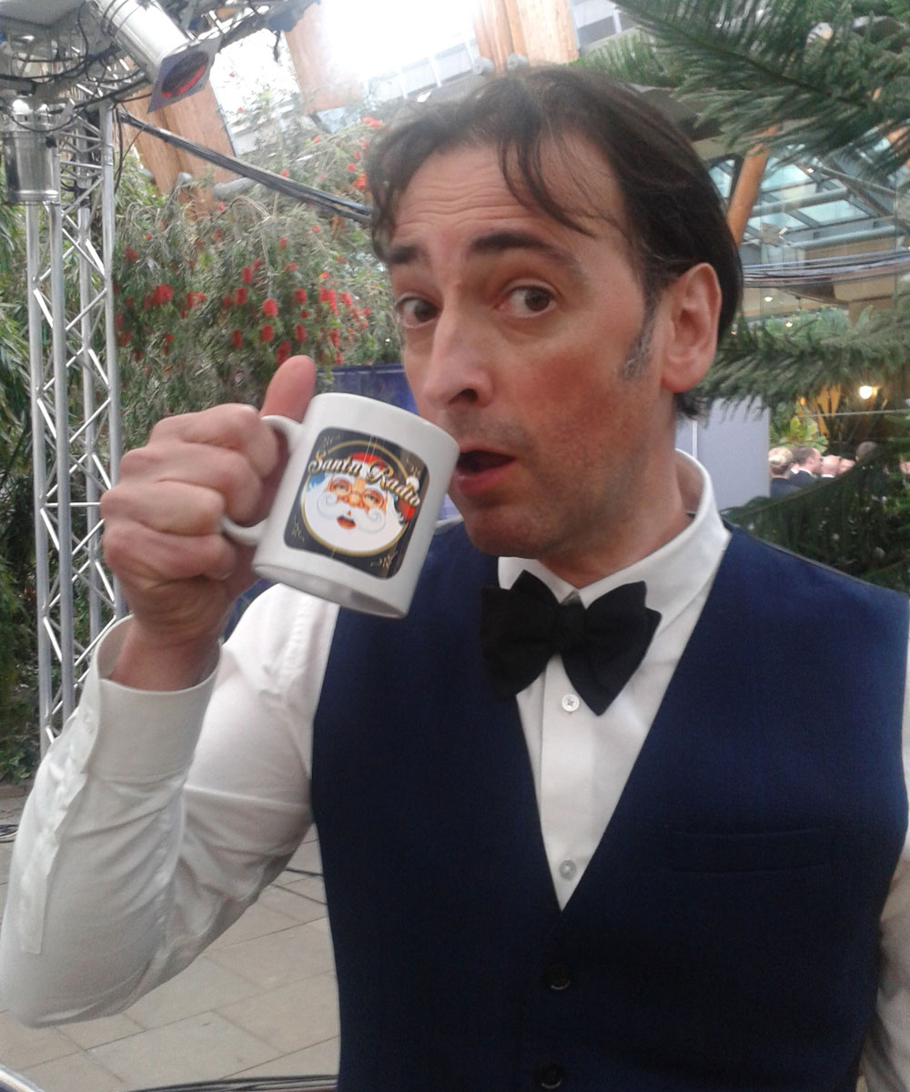 Alistair McGowan - Actor & Impressionist - Santa Radio Mugshot