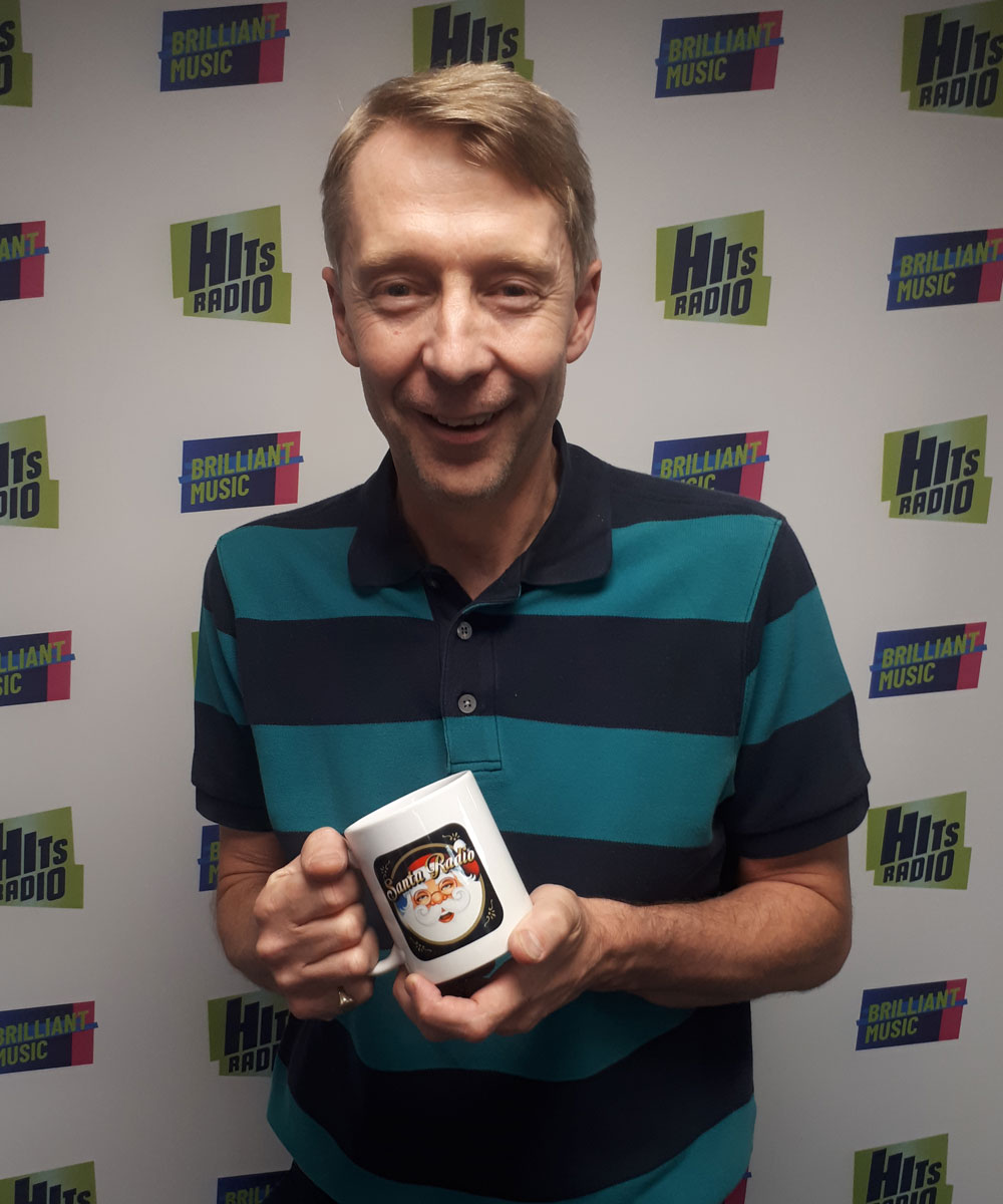 Andy Crane - Television and Radio Presenter - Santa Radio Mugshot