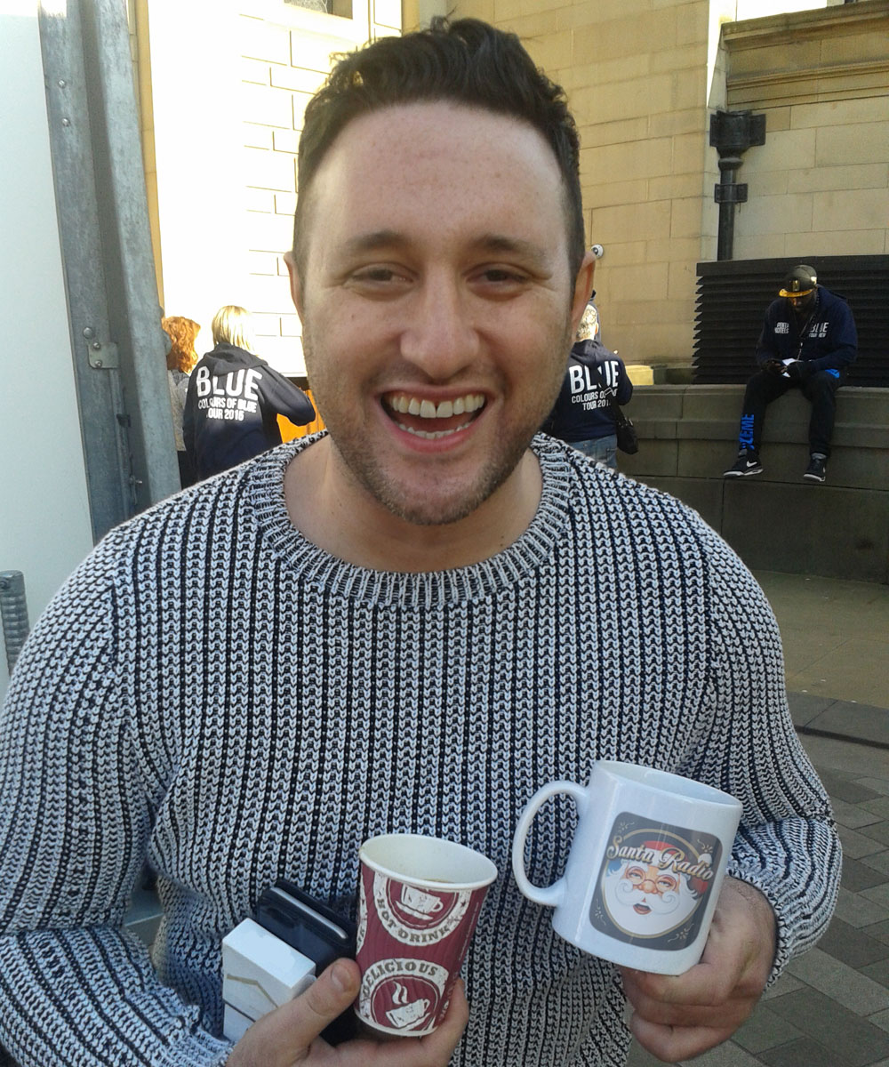 Antony Costa Singer-songwriter - Santa Radio Celebrity Mugshots