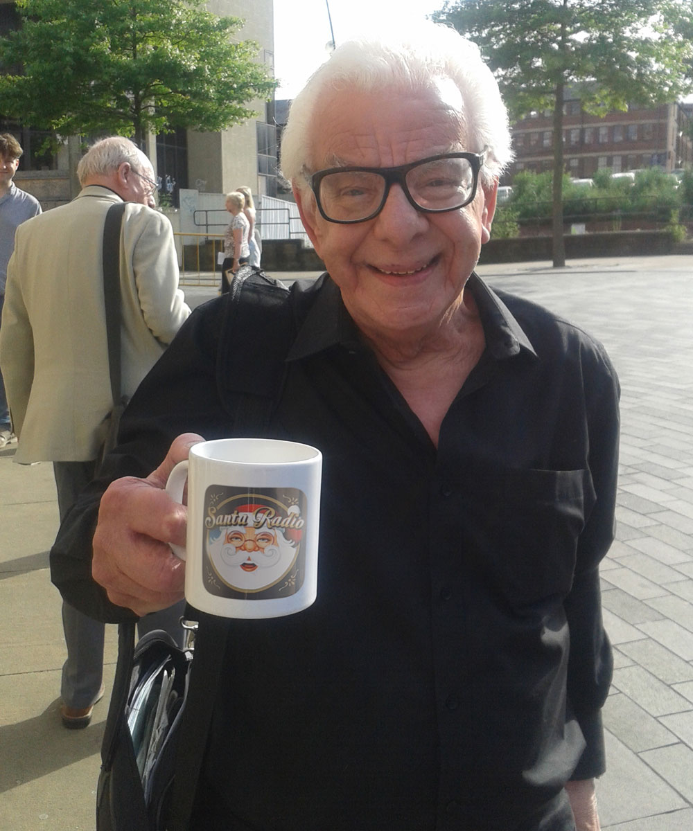 Barry Cryer Writer - Santa Radio Celebrity Mugshots