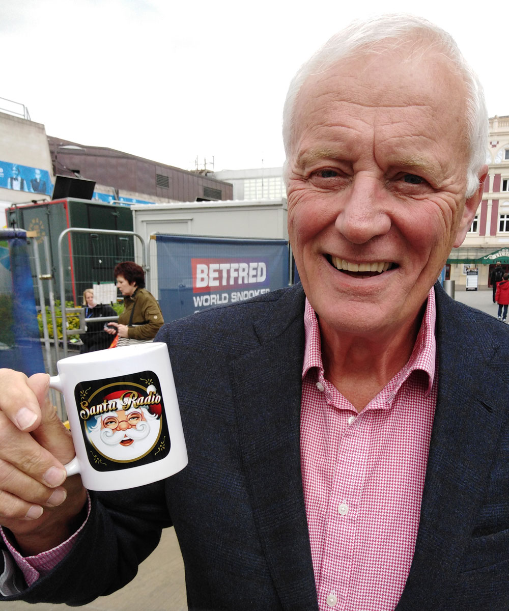 Barry Hearn Promoter - Santa Radio Celebrity Mugshots