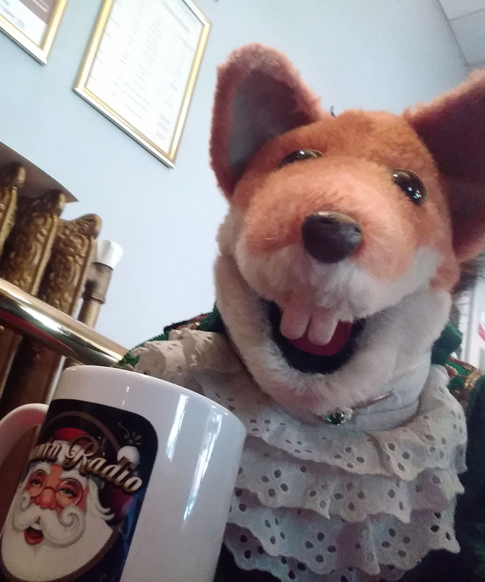 Basil Brush Fictional character - Santa Radio Celebrity Mugshots