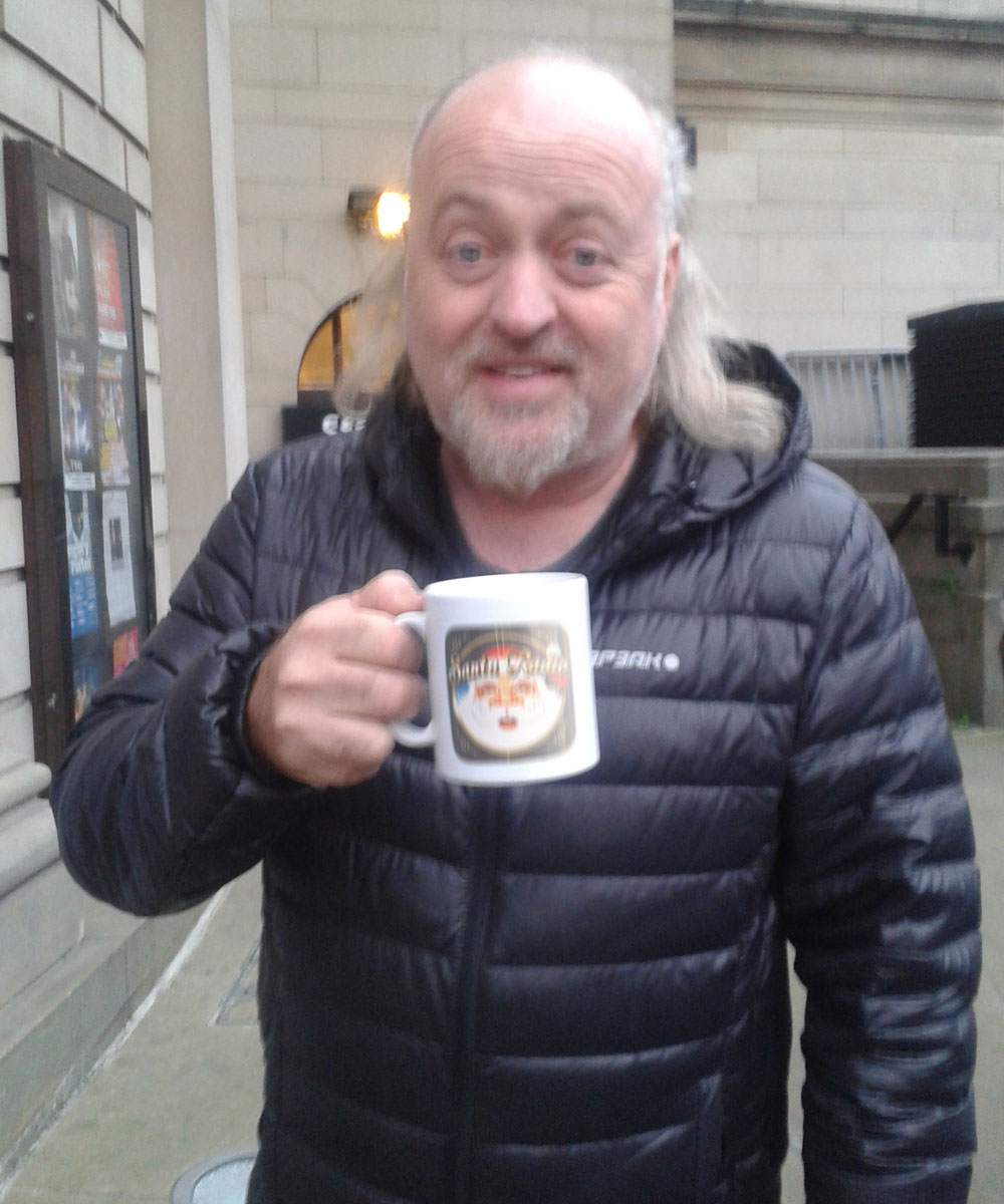 Bill Bailey Comedian - Santa Radio Celebrity Mugshots