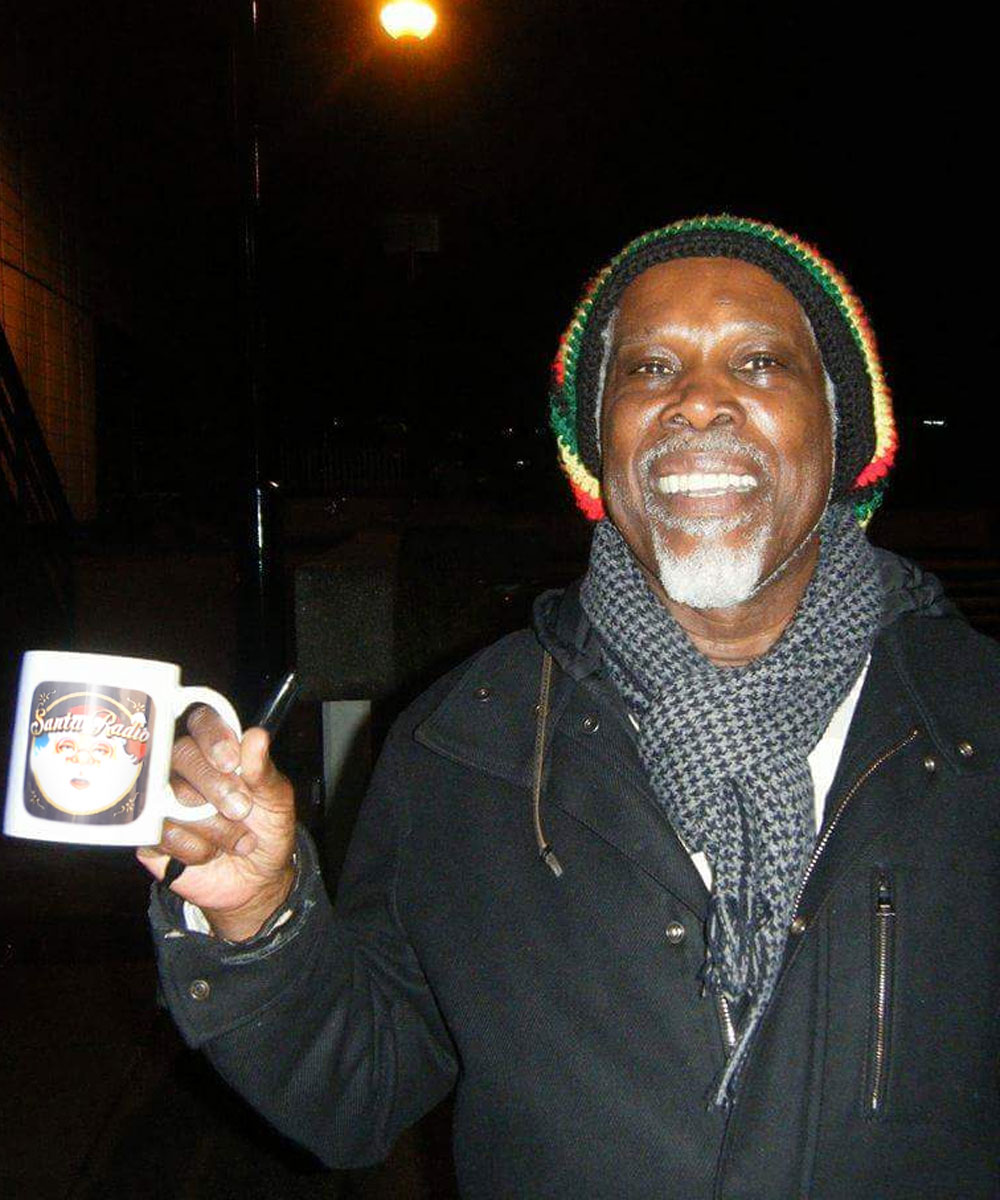 Billy Ocean Recording artist - Santa Radio Celebrity Mugshots