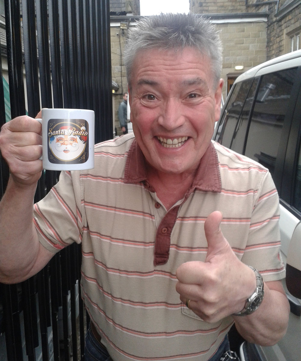 Billy Pearce Comedian & Performer - Santa Radio Celebrity Mugshots