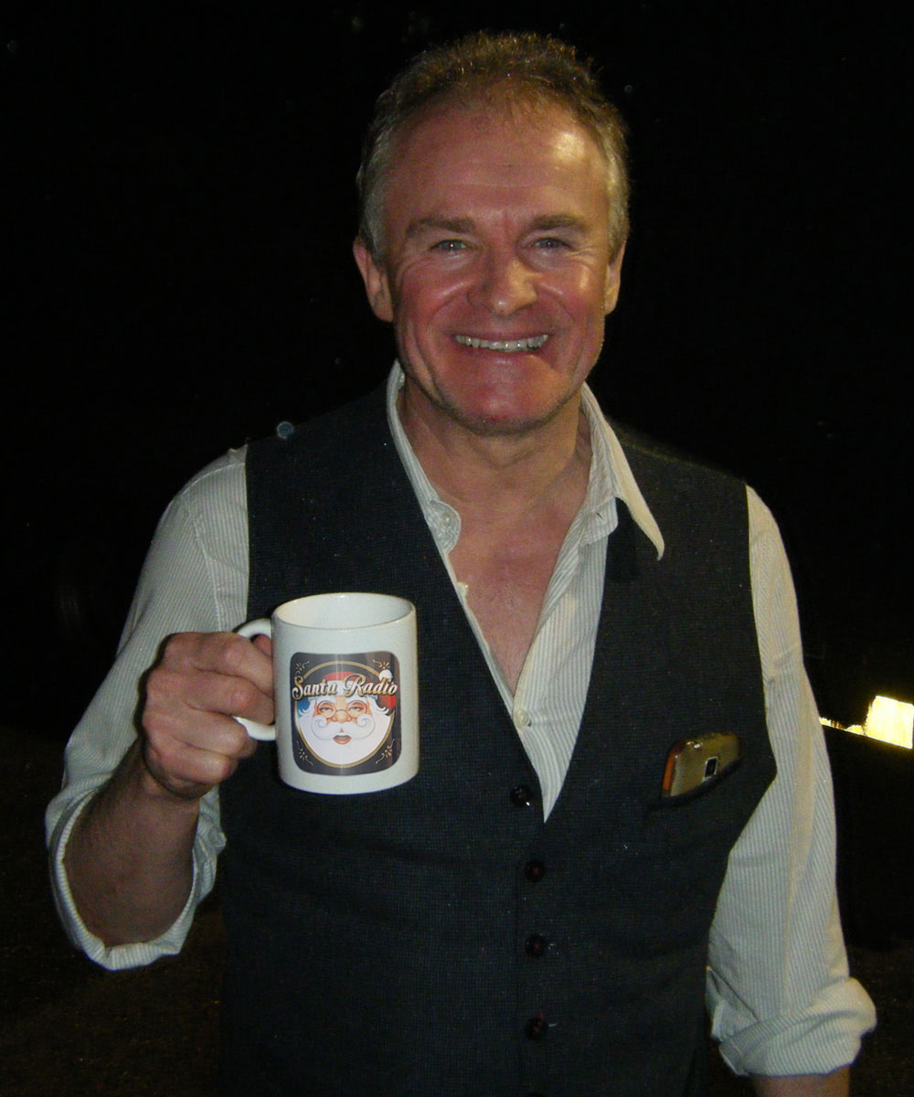 Bobby Davro Actor - Santa Radio Celebrity Mugshots