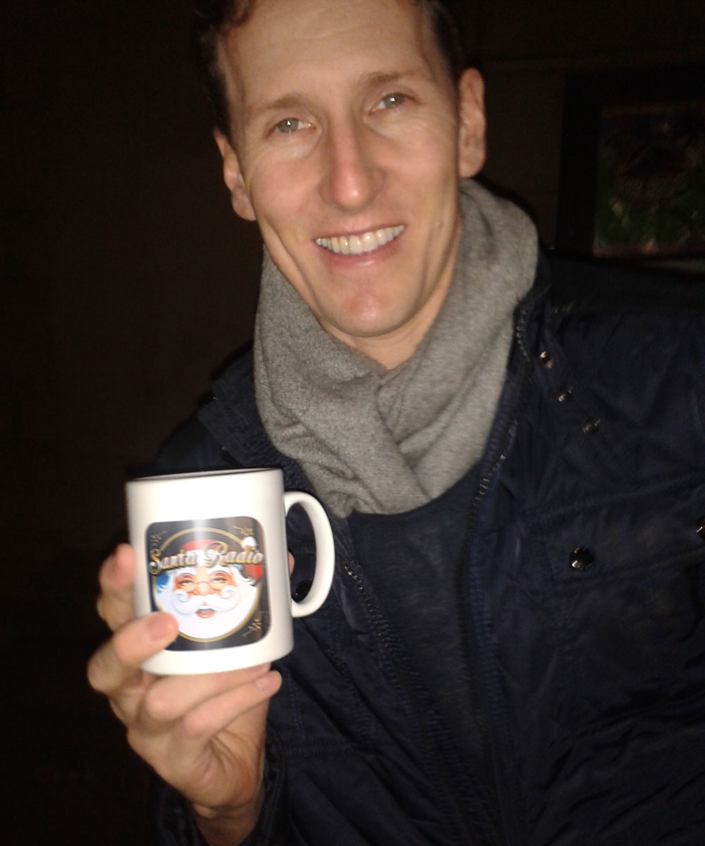 Brendan Cole - British Pro Dancer - Santa Radio Mugshot