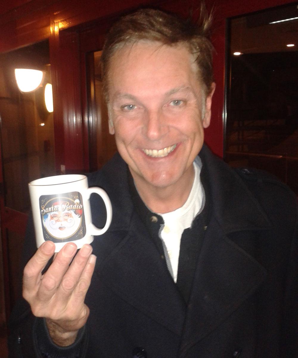 Brian Conley - Comedian - Santa Radio Mugshot