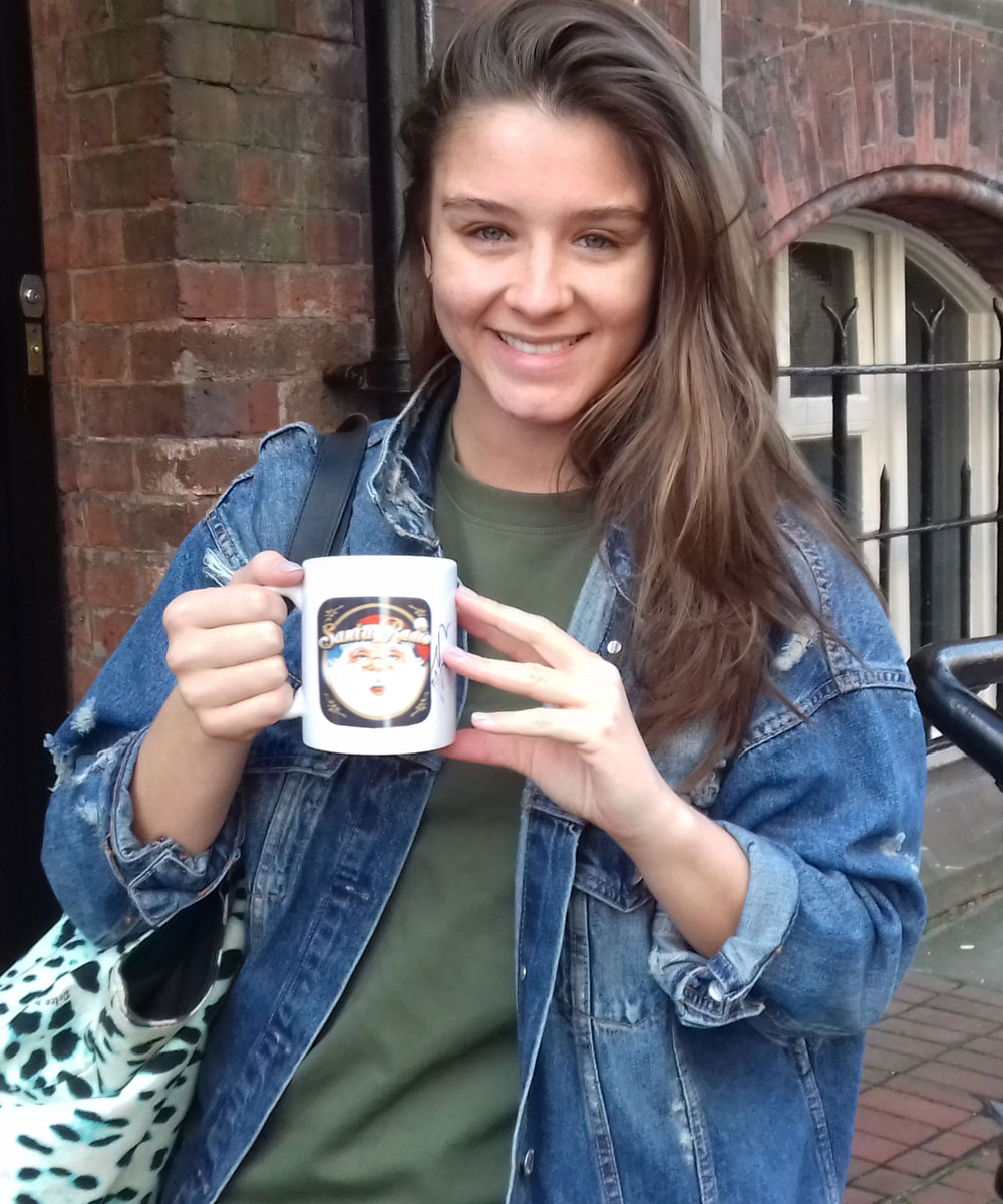 Brooke Vincent - Actress - Santa Radio Mugshot