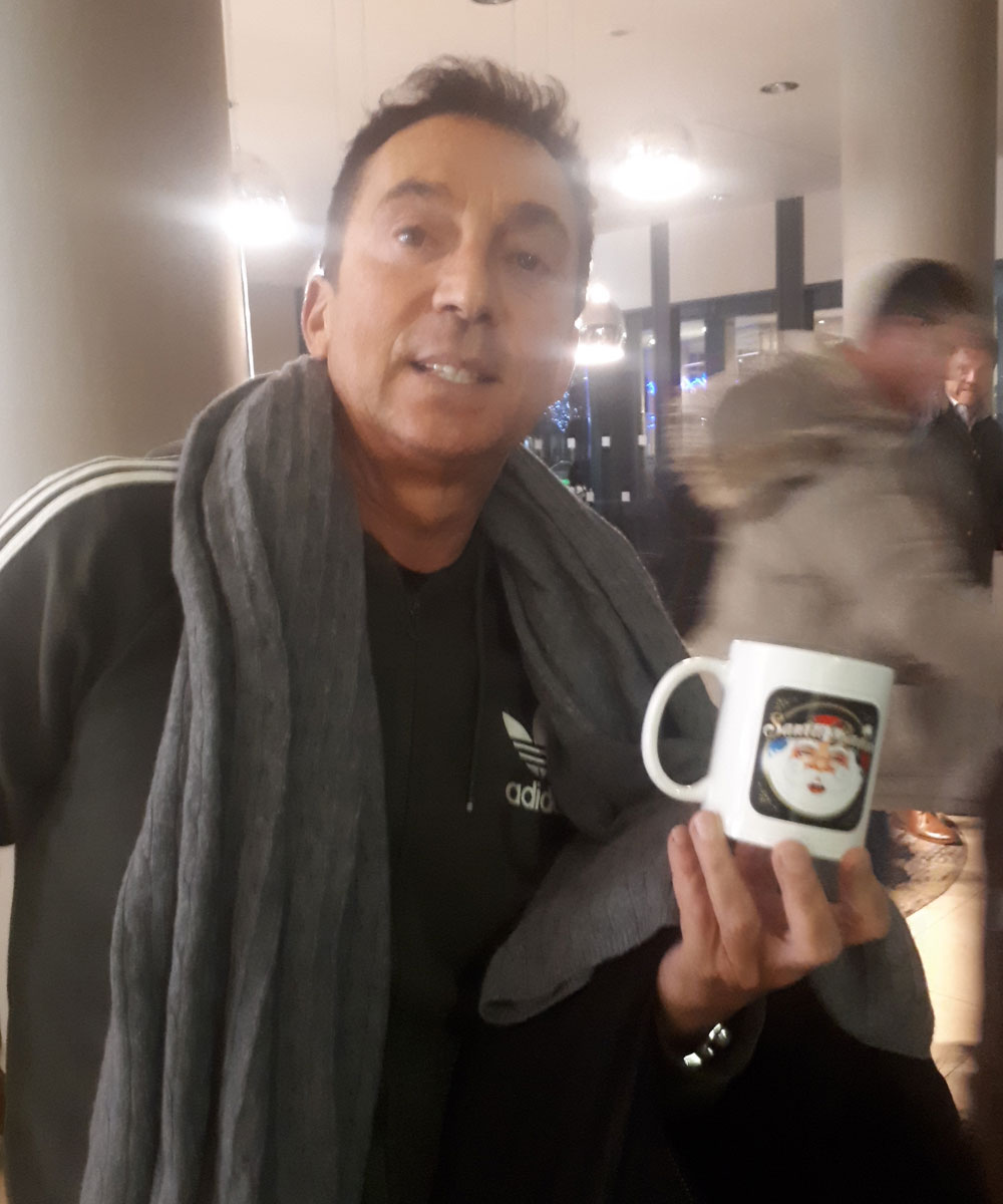 Bruno Tonioli Choreographer & Dancer - Santa Radio Celebrity Mugshots