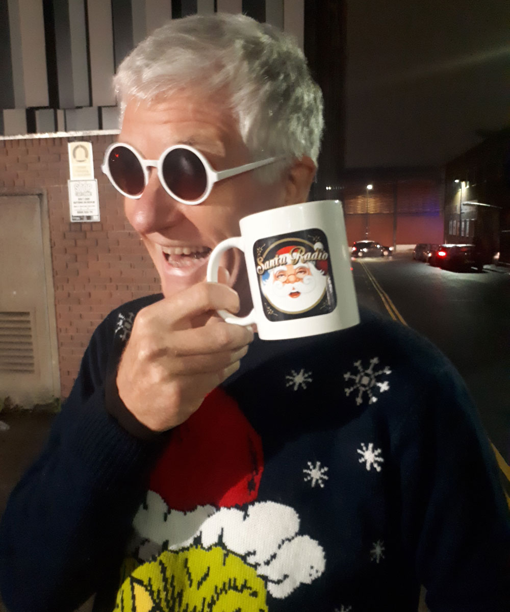 Captain Sensible - Singer - Santa Radio Mugshot