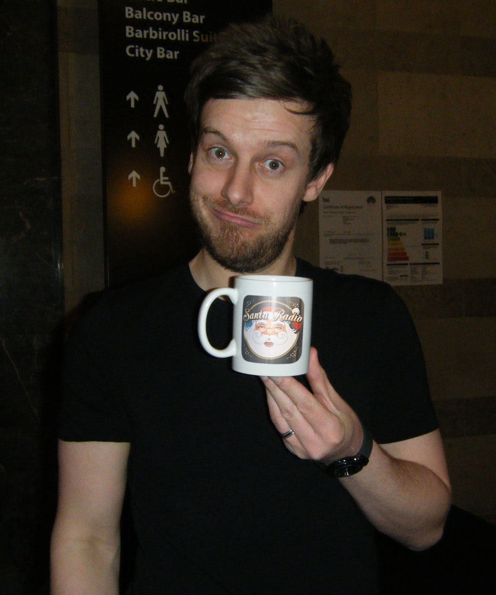 Chris Ramsey Comedian - Santa Radio Celebrity Mugshots