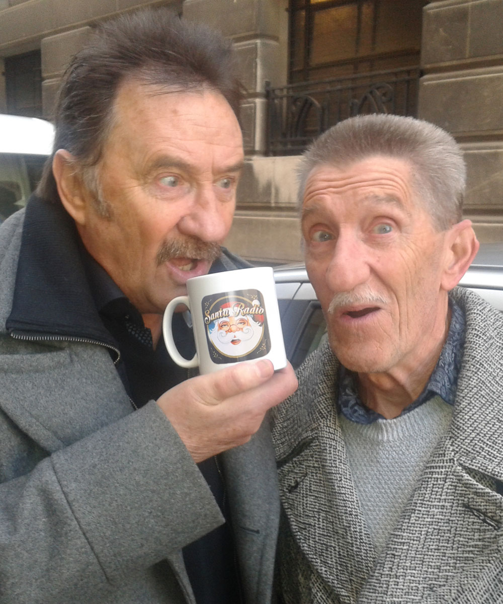 Chuckle Brothers TV Presenters & Actors - Santa Radio Celebrity Mugshots