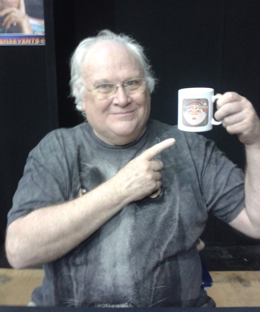 Colin Baker - Actor - Santa Radio Mugshot