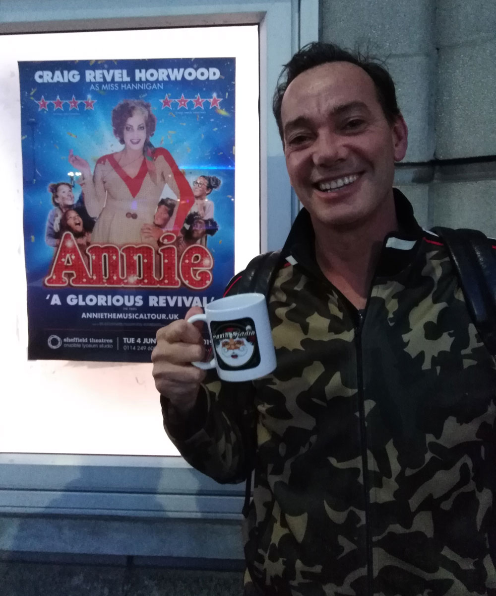 Craig Revel Horwood Australian-British Dancer - Santa Radio Celebrity Mugshots