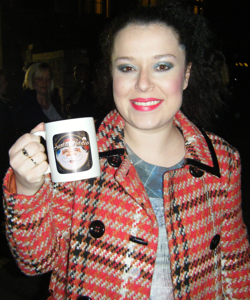 Dani Harmer Actress - Santa Radio Celebrity Mugshots