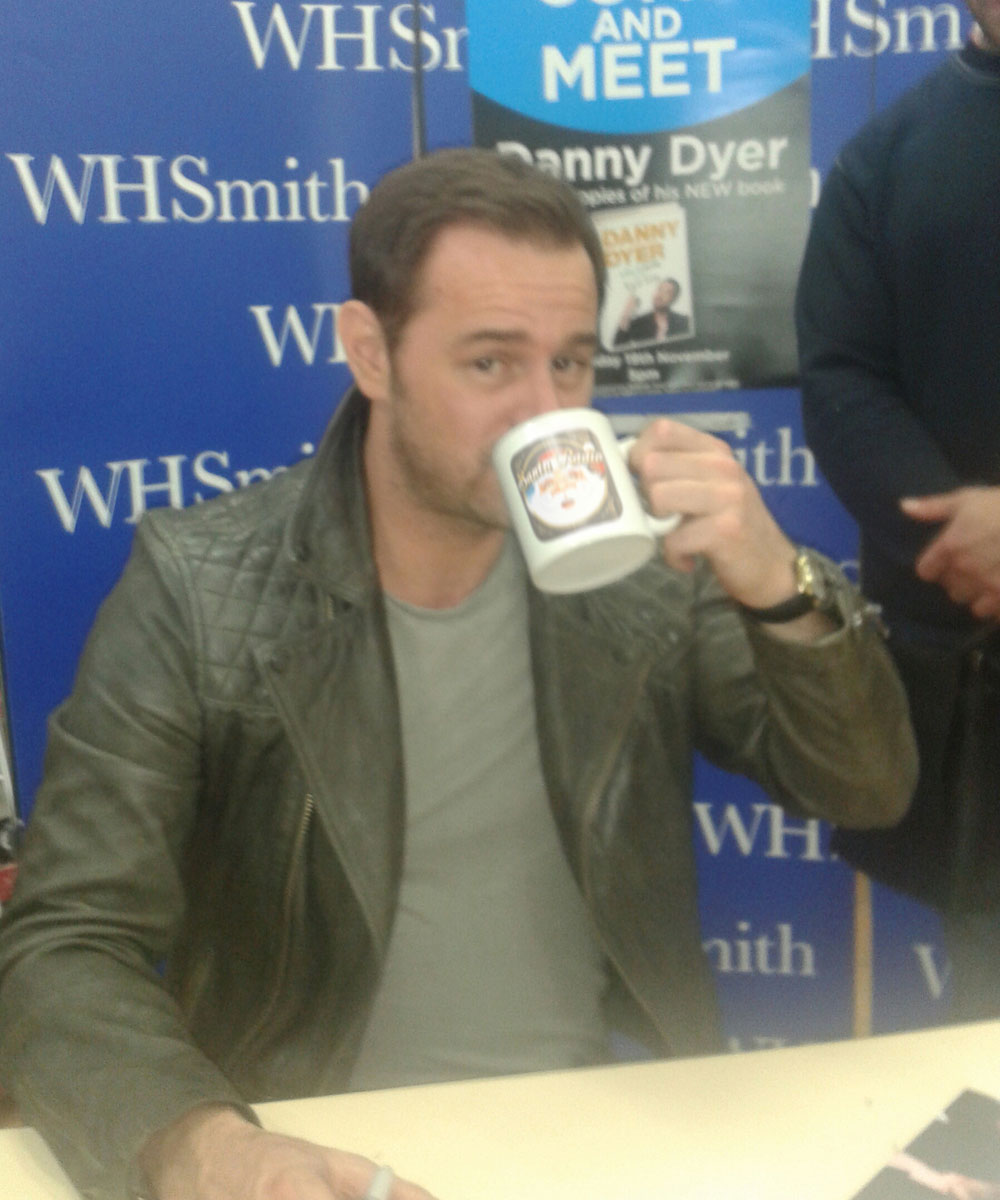 Danny Dyer Actor - Santa Radio Celebrity Mugshots