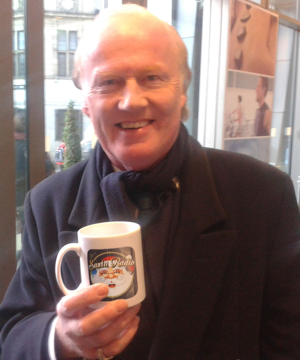 David Davies British broadcaster - Santa Radio Celebrity Mugshots