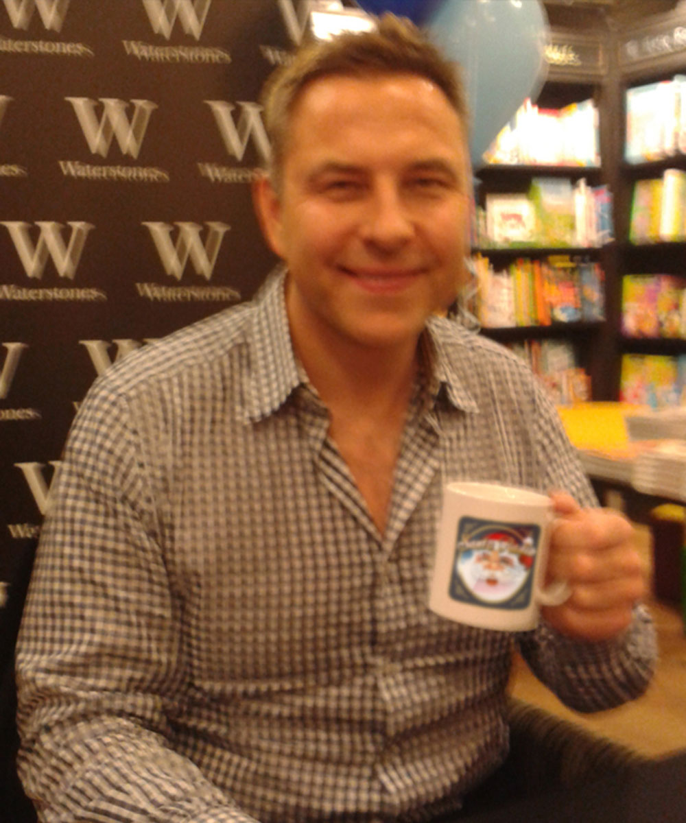 David Walliams - Actor, Comedian, & Author - Santa Radio Mugshot
