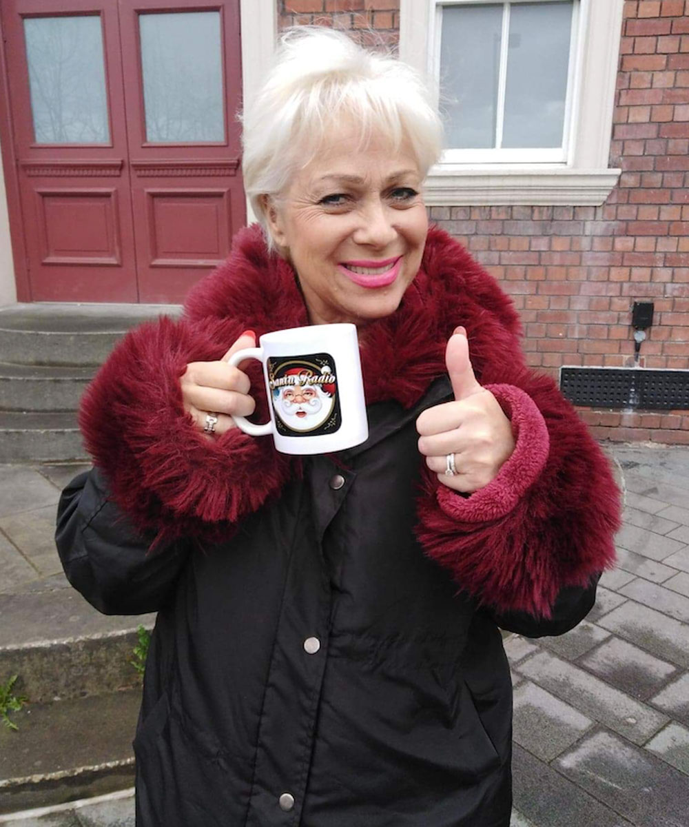 Denise Welch English actress - Santa Radio Celebrity Mugshots