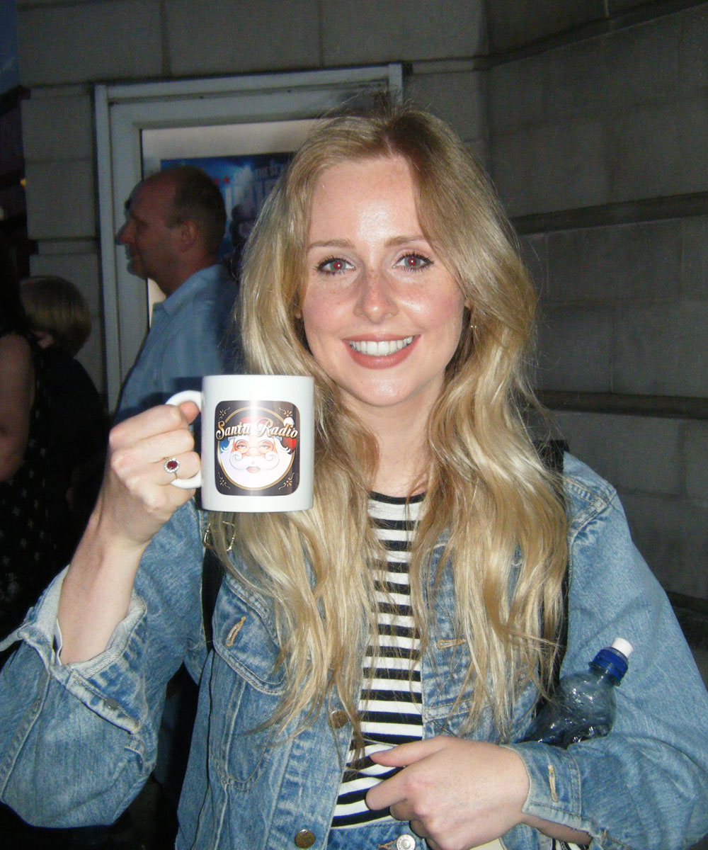 Diana Vickers Singer-songwriter - Santa Radio Celebrity Mugshots