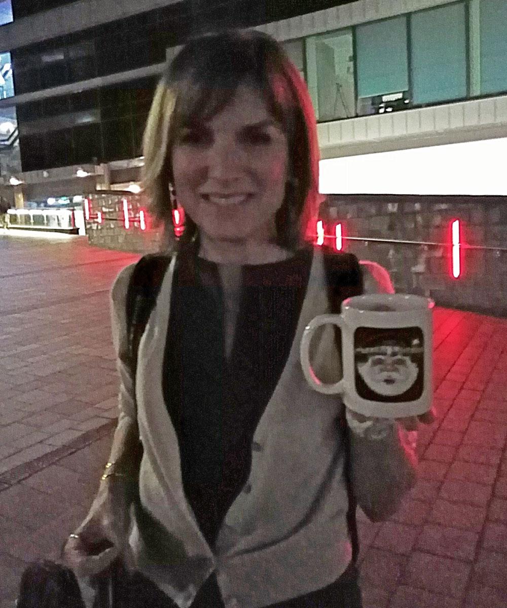 Fiona Bruce - Journalist - Santa Radio Mugshot
