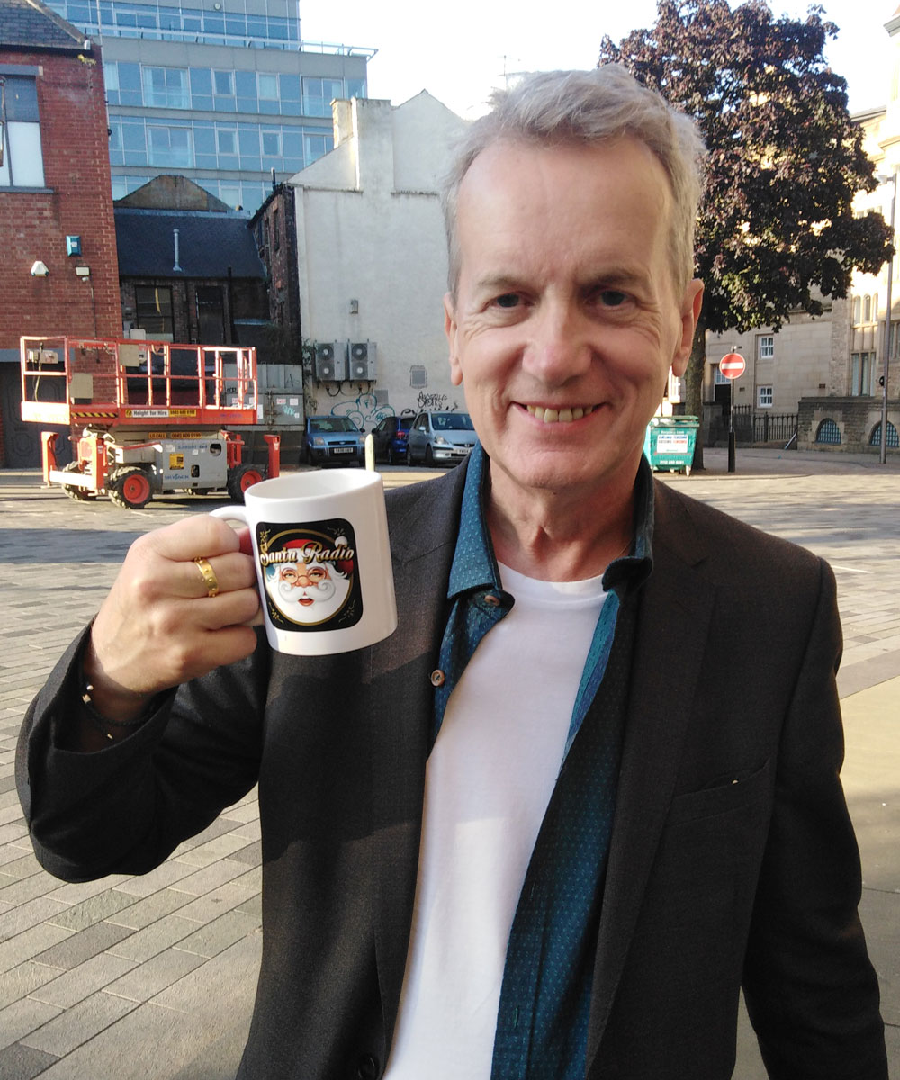 Frank Skinner - Comedian & Writer - Santa Radio Mugshot