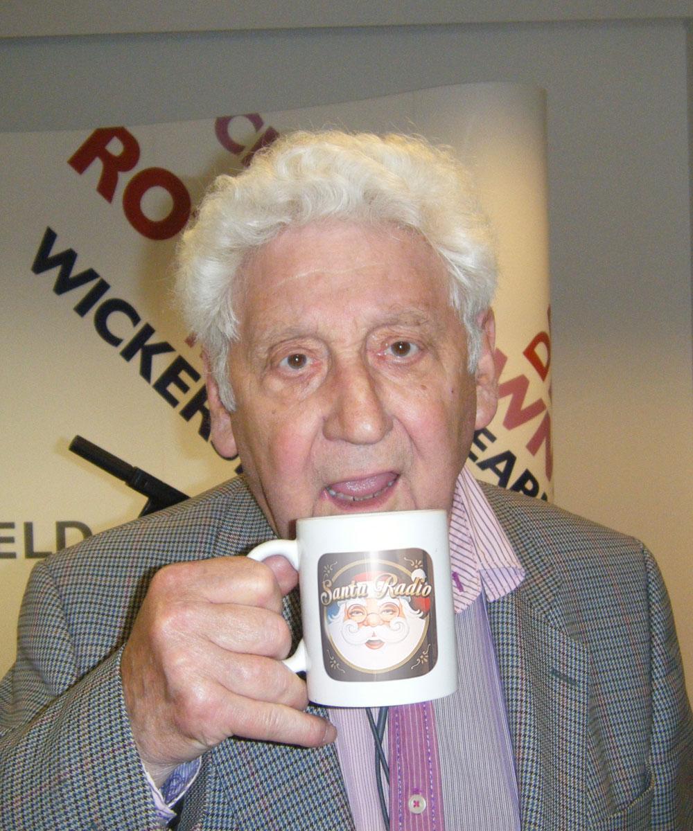 Freddie 'Parrot Face' Davies - Comedian - Santa Radio Mugshot