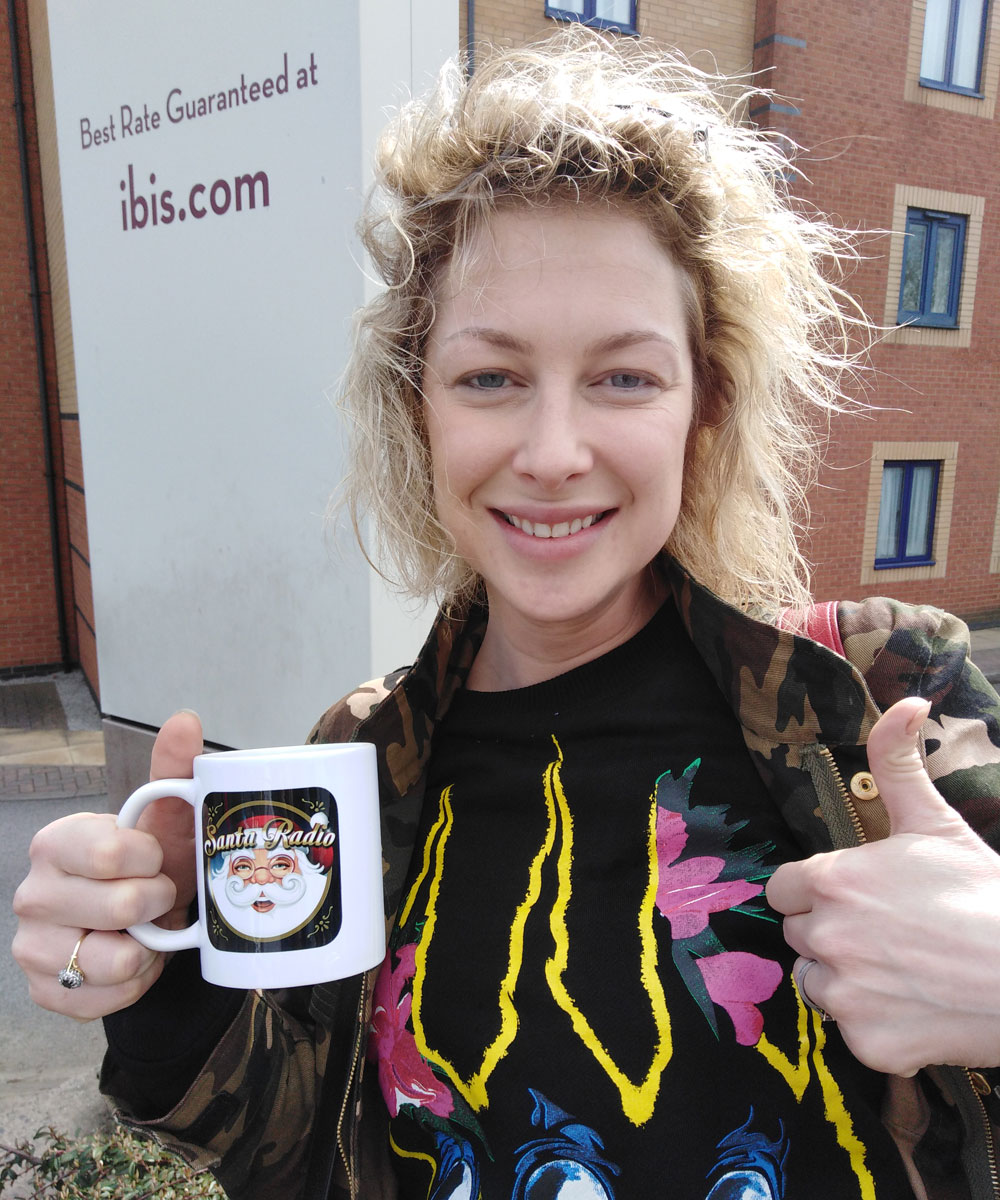 Gemma Bissix Actress - Santa Radio Celebrity Mugshots