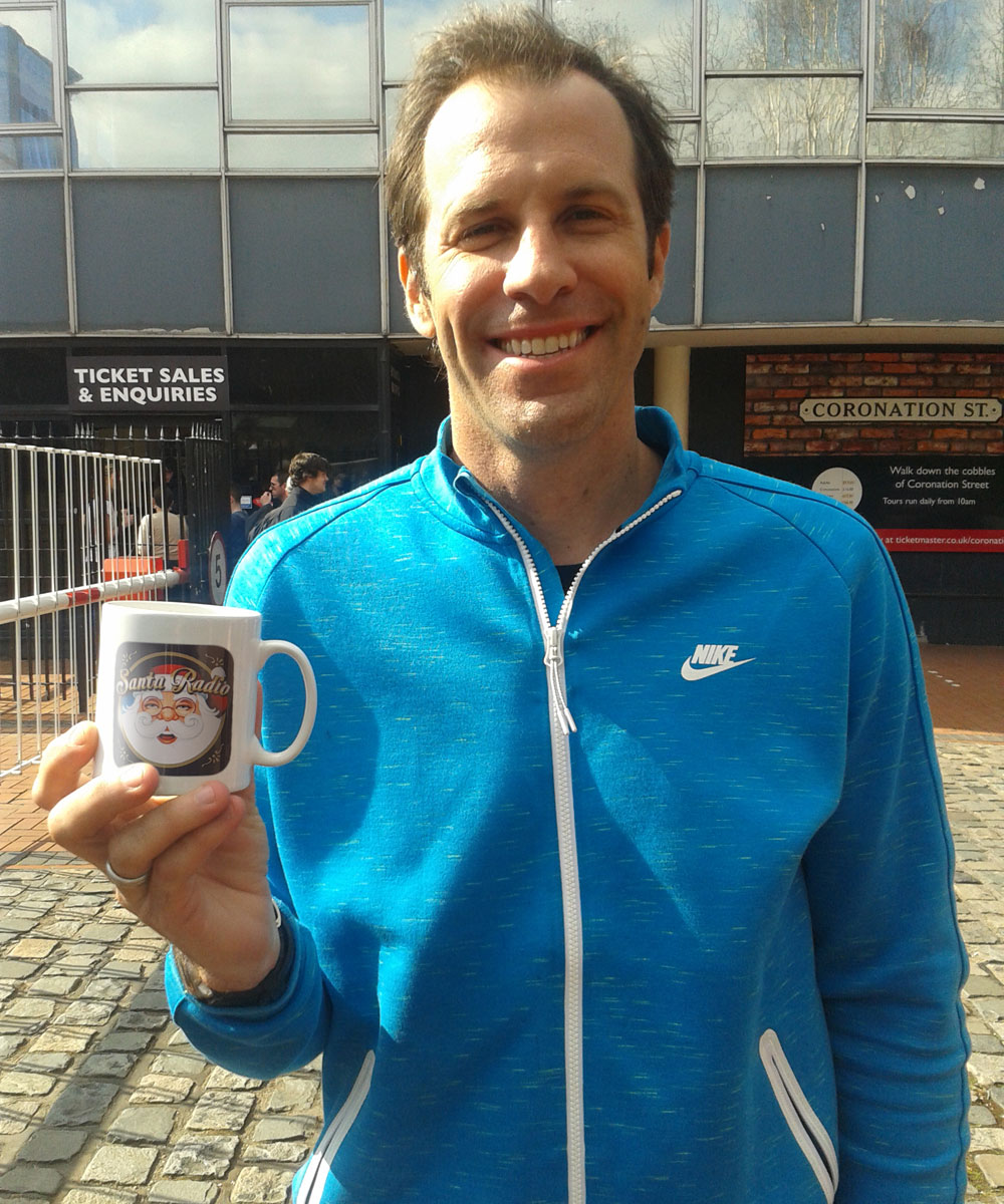 Greg Rusedski - British-Canadian tennis player - Santa Radio Mugshot