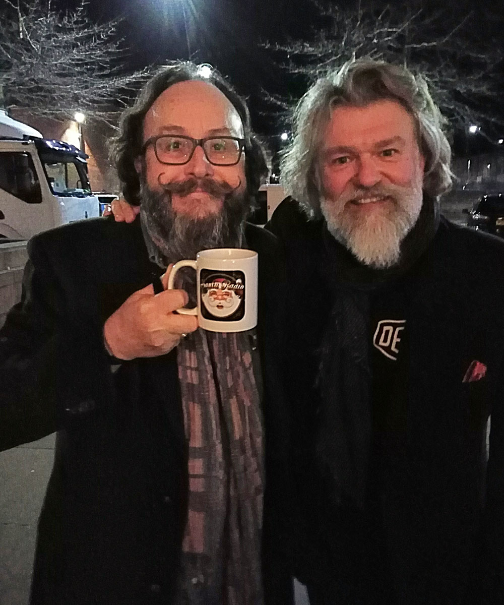 Hairy Bikers - British television presenters - Santa Radio Mugshot