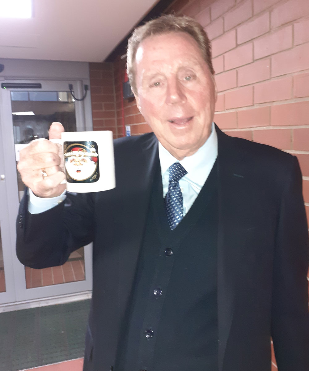Harry Redknapp Football Manager - Santa Radio Celebrity Mugshots
