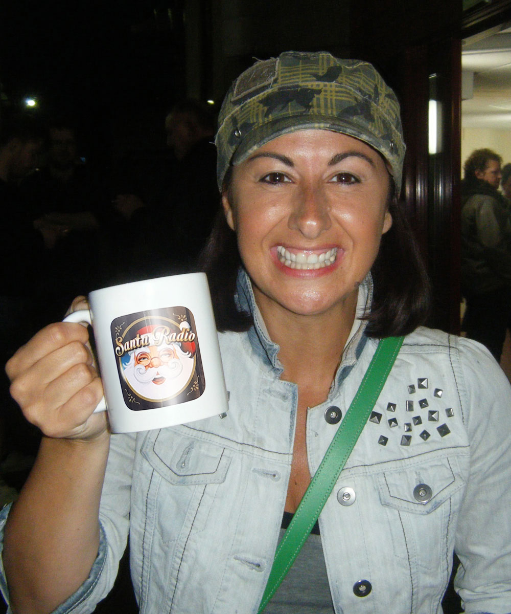Hayley Tamaddon - Actress - Santa Radio Mugshot
