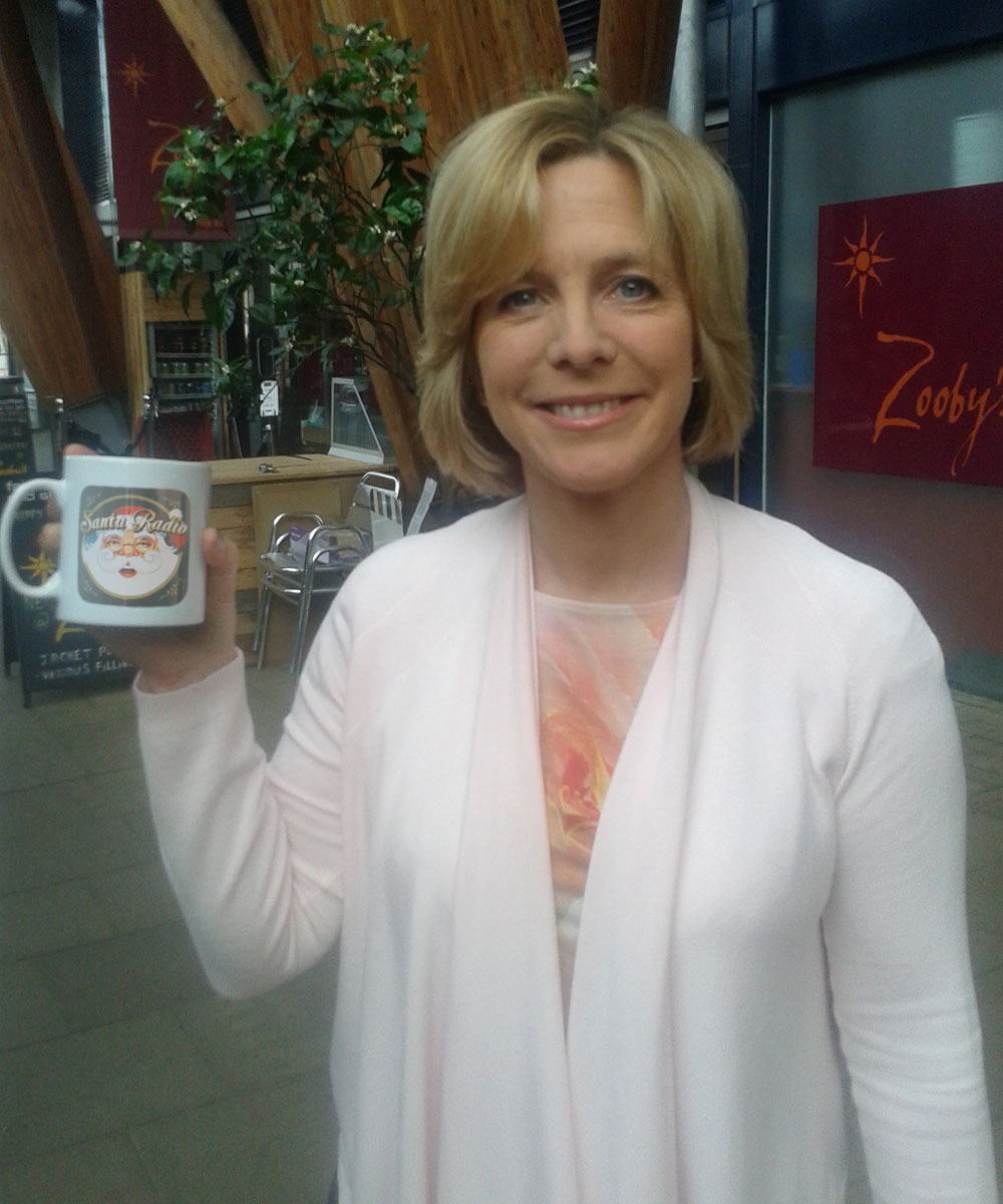 Hazel Irvine - Television presenter - Santa Radio Mugshot