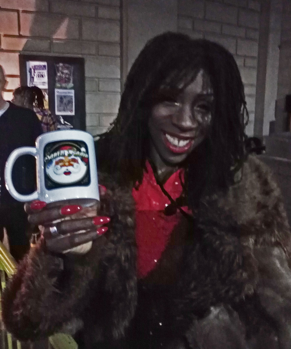 Heather Small - Singer - Santa Radio Mugshot
