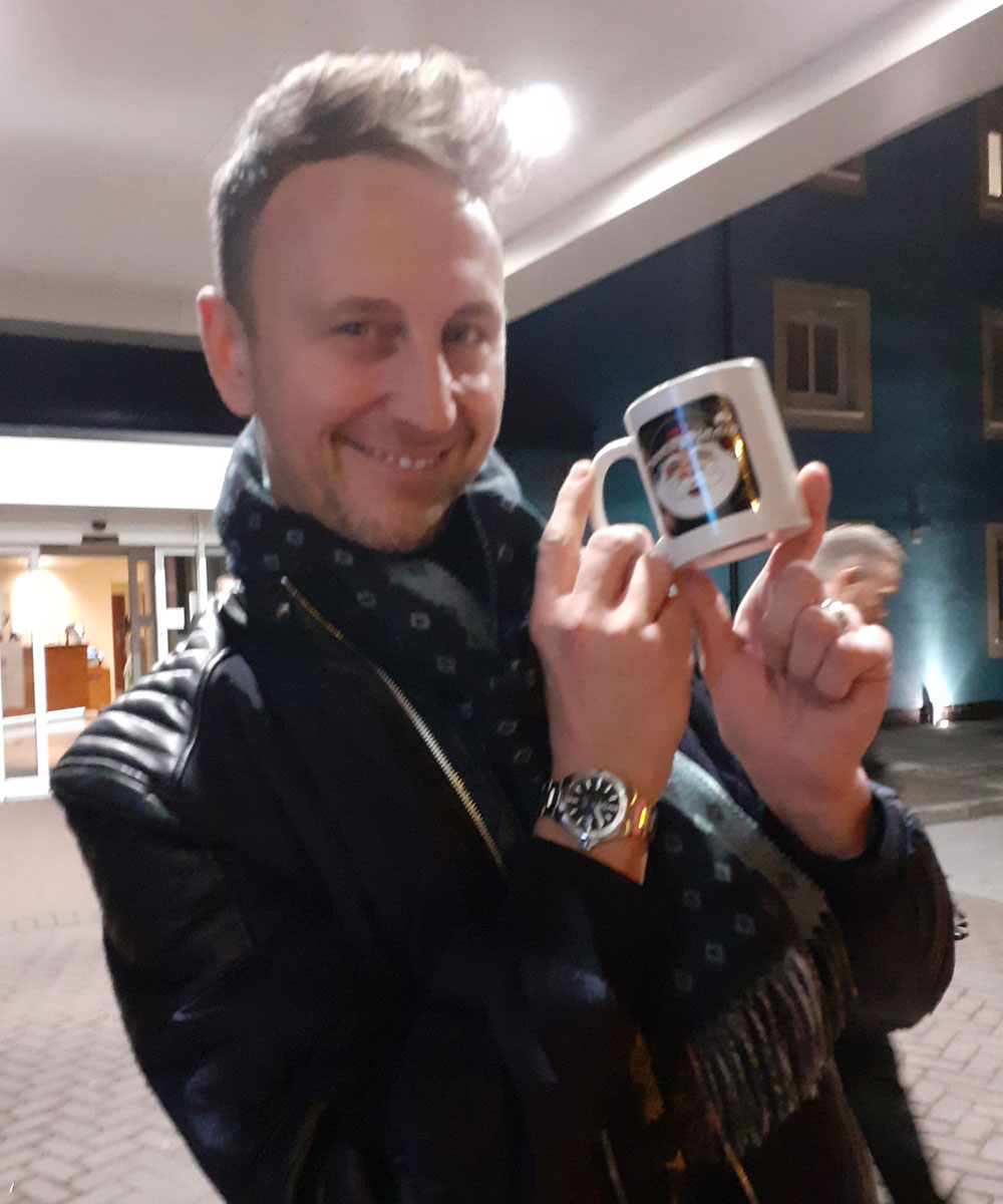 Ian Waite - Professional Dancer - Santa Radio Mugshot