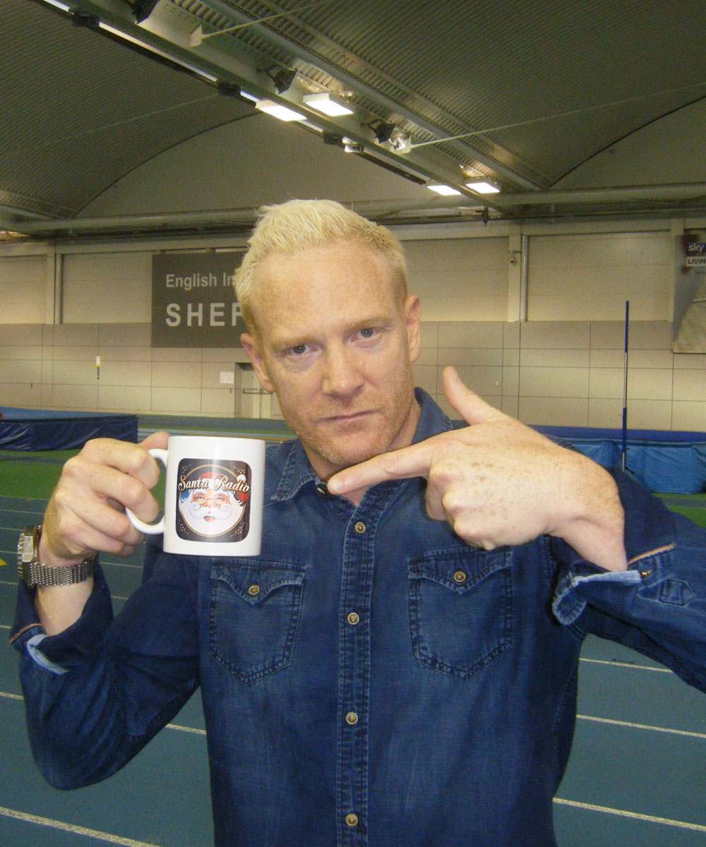 Ivan Thomas Cricketer - Santa Radio Celebrity Mugshots