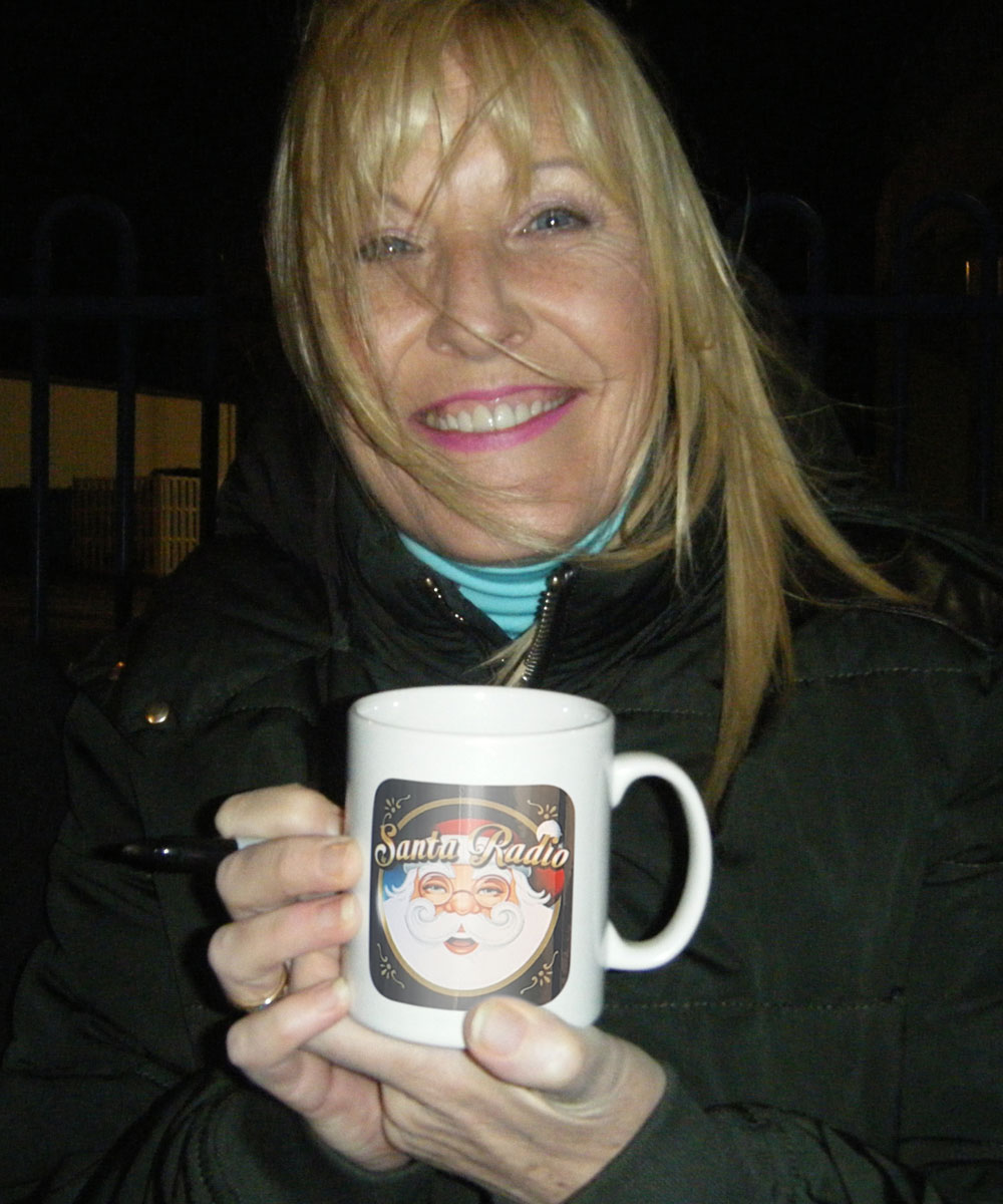 Jennifer Gibney - Irish actress - Santa Radio Mugshot