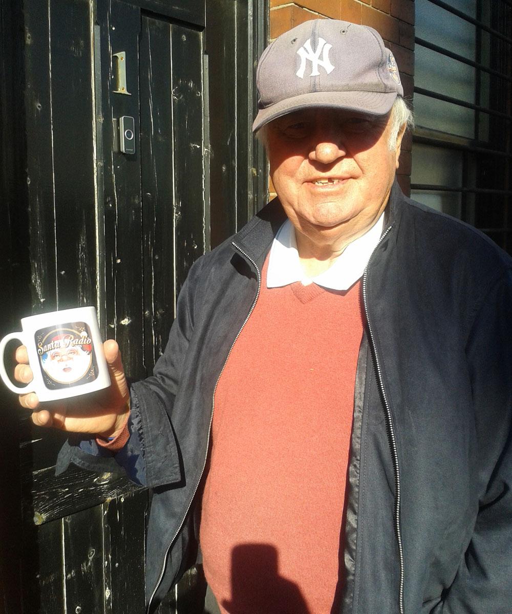 Jimmy Tarbuck - Comedian - Santa Radio Mugshot