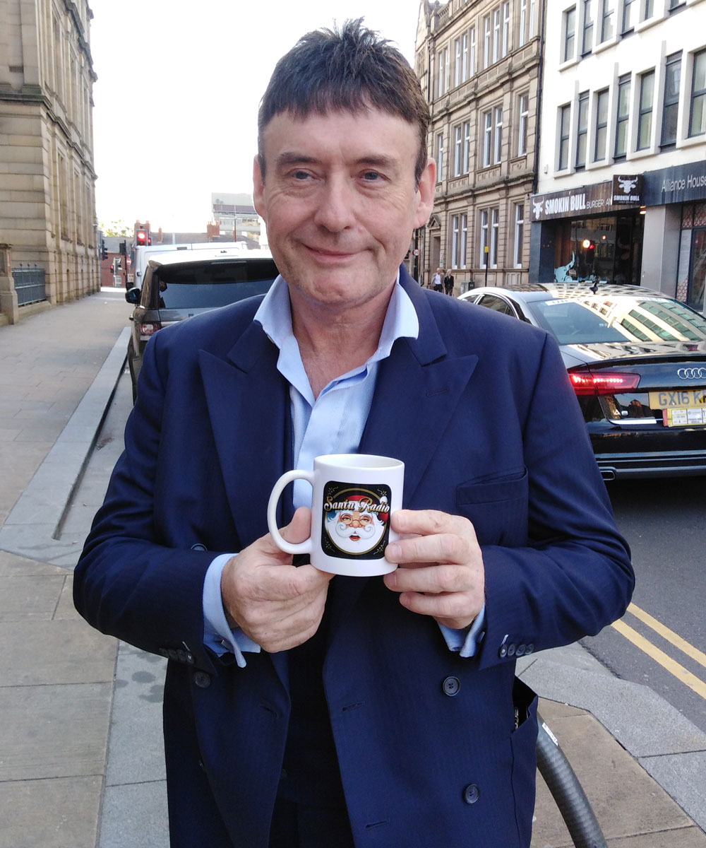 Jimmy White Snooker Player - Santa Radio Celebrity Mugshots