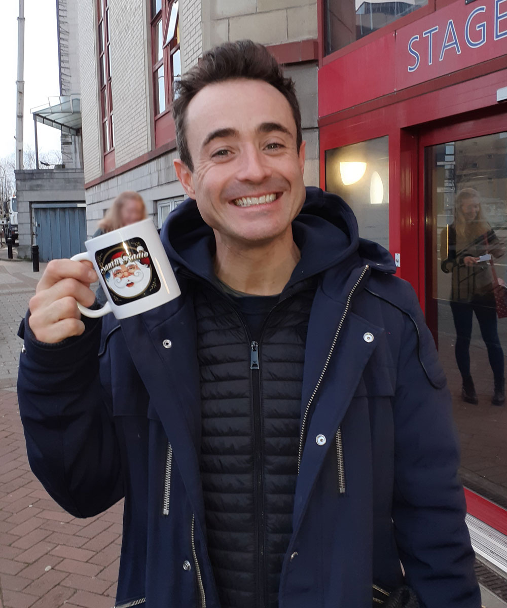 Joe McFadden Actor - Santa Radio Celebrity Mugshots