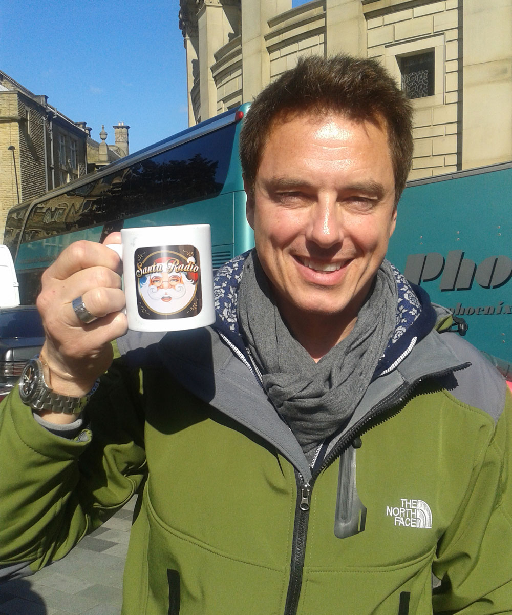 John Barrowman - British Actor - Santa Radio Mugshot